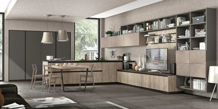 Mobiliario cocina perfil estudios de cocina caceres for Mobiliario cocina